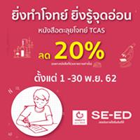 หนังสือตะลุยโจทย์ TCAS ลด 20%
