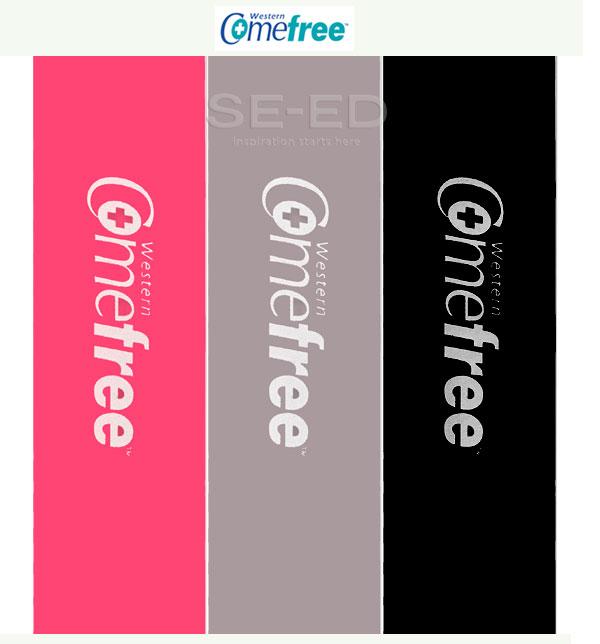 ยางยืดออกกำลังกาย (สีชมพู) : Comefree Mini Bands Pink