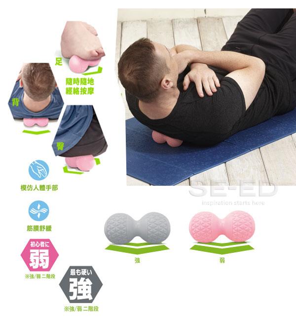 ลูกบอลนวด (สีเทา) : Comefree Massage Ball Gray