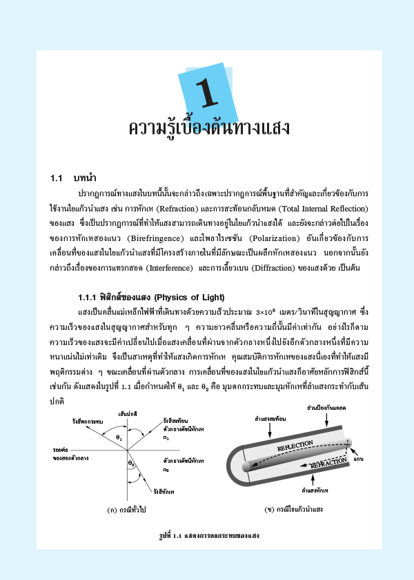 เครือข่ายใยแก้วนำแสง (PDF)