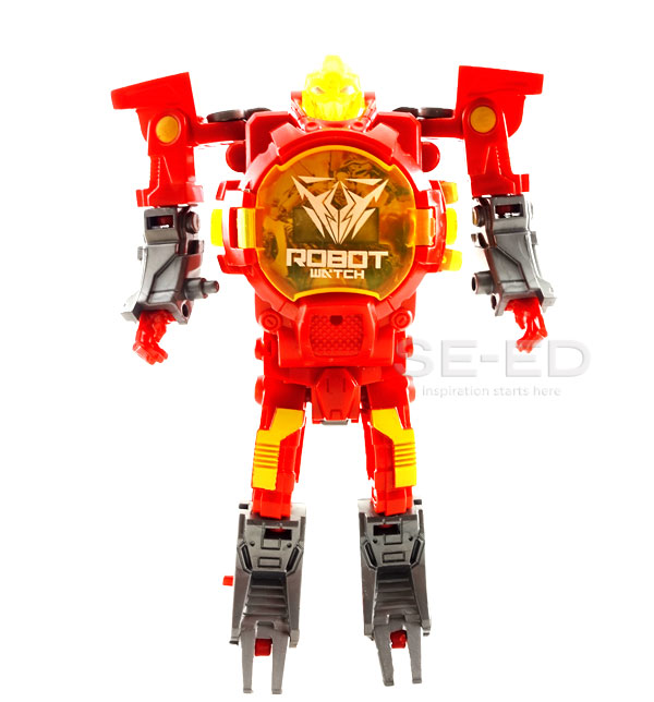 Robot Watch 2 นาฬิกาหุ่นยนต์ 2 สีแดง