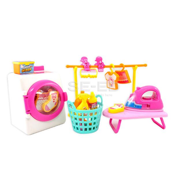 เครื่องซักผ้า+อุปกรณ์พิงค์แรบบิท Washer No.CA050620