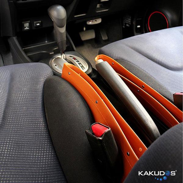 Kakudos Seat Pocket Catcher กระเป๋าเก็บของข้างเบาะรถยนต์ สีเบจ