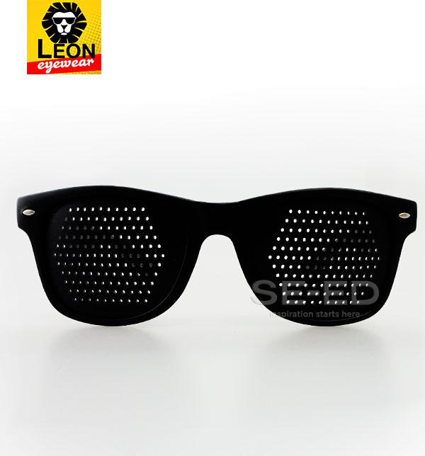 แว่นลดความเหนื่อยล้าของกล้ามเนื้อตา : Leon Eye Therapy รุ่น SPH - V 01 สีดำ