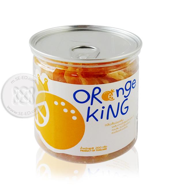 กลีบส้มอบแห้ง Orange King 200 กรัม