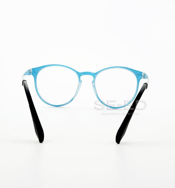 แว่นตาตัดประกอบ เลนส์ Blue W03-สีฟ้า