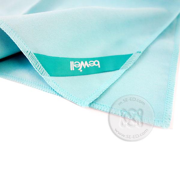 ผ้าเช็ดตัวแห้งเร็วเล็ก Bewell T-09 สีเขียว