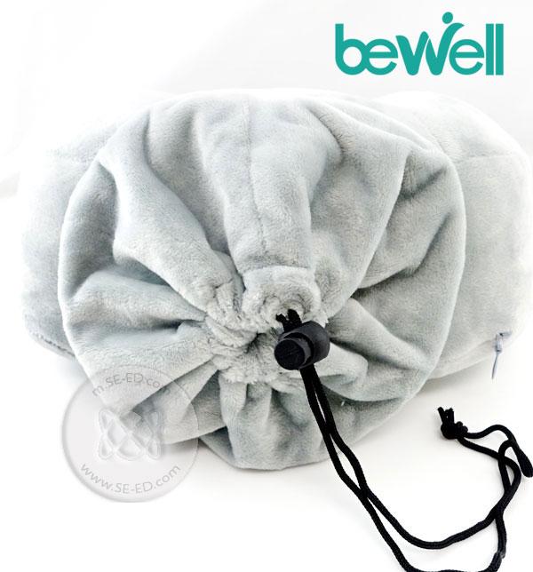 หมอนรองคออเนกประสงค์ Bewell TT-003 สีดำ