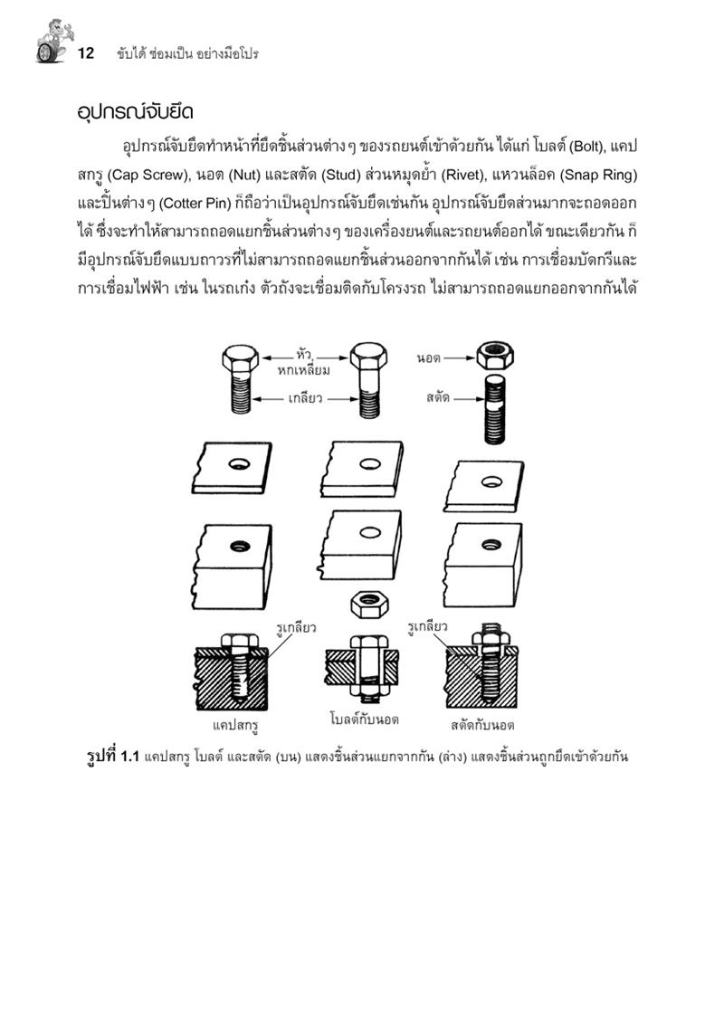 ขับได้ซ่อมเป็น อย่างมือโปร (PDF)