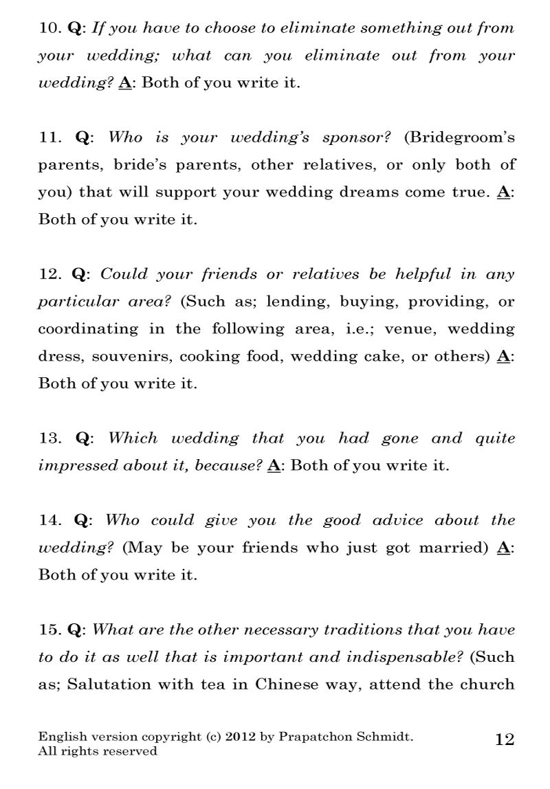 2 Simple Tips to Design Your Wedding Planning Checklist (PDF)
