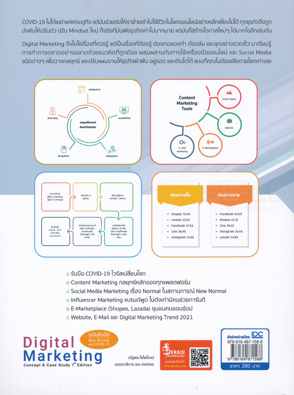 Digital Marketing Concept & Case Study 7th Edition (ฉบับรับมือ New Normal หลัง COVID-19)
