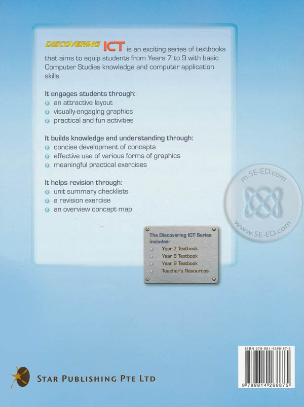 Discovering ICT 9 : Textbook (P)