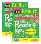 Fun English for Preschool 2 แบบฝึกอ่านอังกฤษเด็กก่อนวัยเรียน-อนุบาล +Workbook