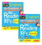 Fun English for Preschool 4 แบบฝึกอ่านอังกฤษเด็กก่อนวัยเรียน-อนุบาล +Workbook