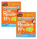 Fun English for Preschool 5 แบบฝึกอ่านอังกฤษเด็กก่อนวัยเรียน-อนุบาล +Workbook