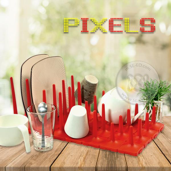 ชุด Pixels อเนกประสงค์ (สีแดง)