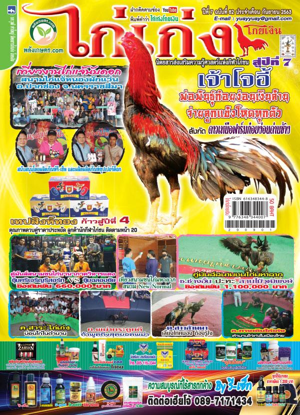 นิตยสาร ไก่เก่ง ปีที่ 7 ฉบับที่ 82 กันยายน 2563 (PDF)