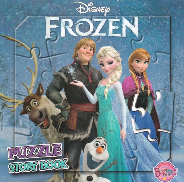 Disney Frozen Puzzle Story Book (ปกแข็ง)