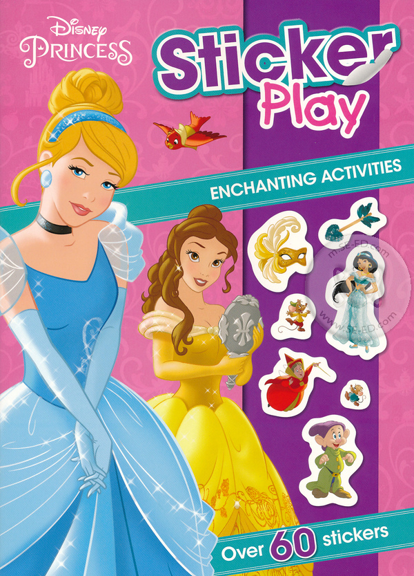 Disney Princess Sticker Play Book