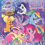 My Little Pony The Movie : Puzzle Story Book (ปกแข็ง)