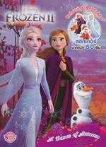 Frozen II A Dance of Autumn สมุดภาพระบายสีและสติกเกอร์
