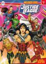 สมุดภาพระบายสี สติกเกอร์ Justice League No.1