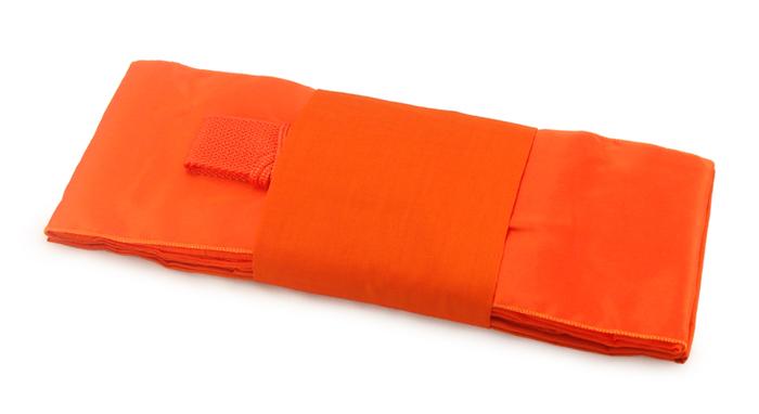 ผ้าไตรครอง มัสลินเกรด A สีเหลืองส้ม