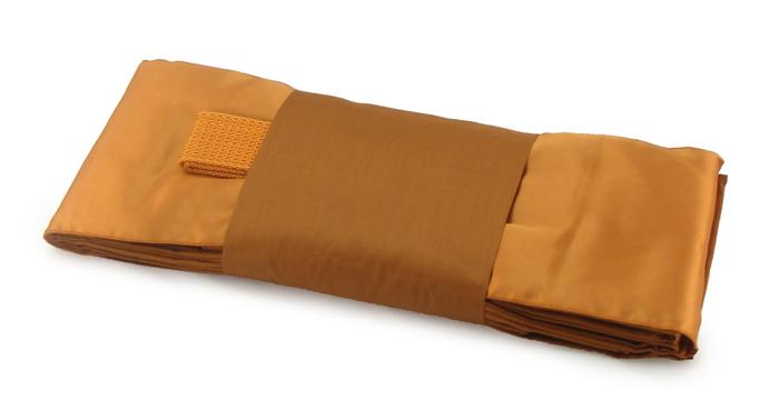 ผ้าไตรครอง มัสลินเกรด A สีแก่นขนุน