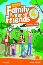 American Family and Friends 2nd ED 4 : Student Book (P)