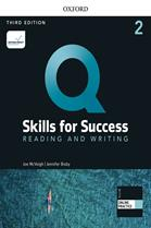 Q : Skills for Success 3rd ED 2 : Reading and Writing : Student Book +iQ Online Practice (P)