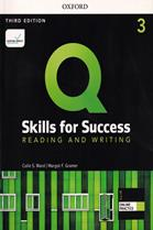 Q : Skills for Success 3rd ED 3 : Reading and Writing : Student Book +iQ Online Practice (P)