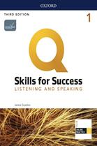 Q : Skills for Success 3rd ED 1 : Listening and Speaking : Student Book +iQ Online Practice (P)