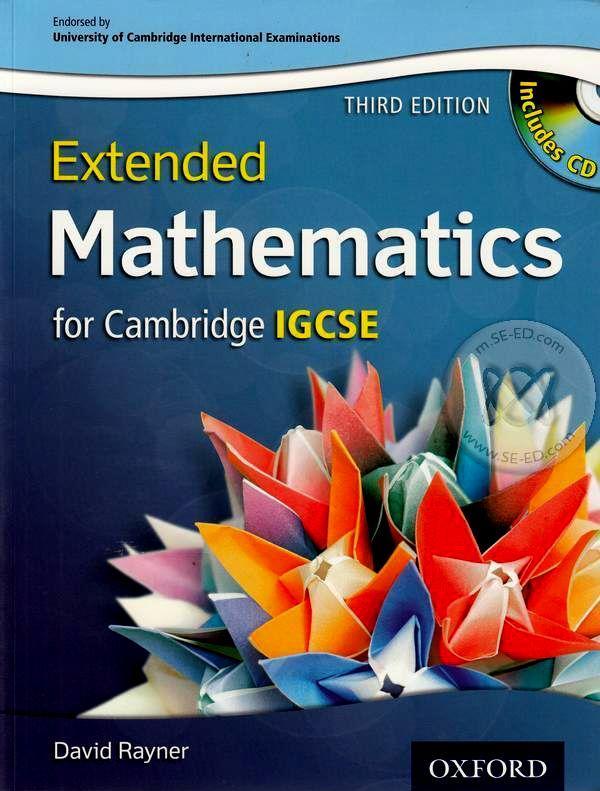 Entended Mathematics for Cambridge IGCSE 3ED +CD (P)