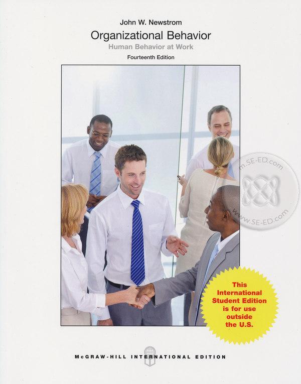Organizational Behavior: Human Behavior at Work 14ED (P)