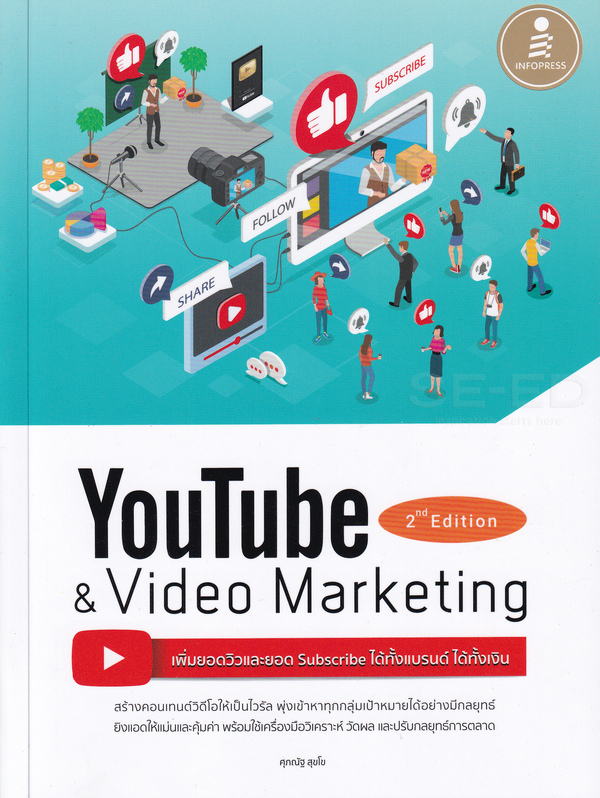 Youtube and Video Marketing เพิ่มยอดวิวและยอด ได้ทั้งแบรนด์ ได้ทั้งเงิน