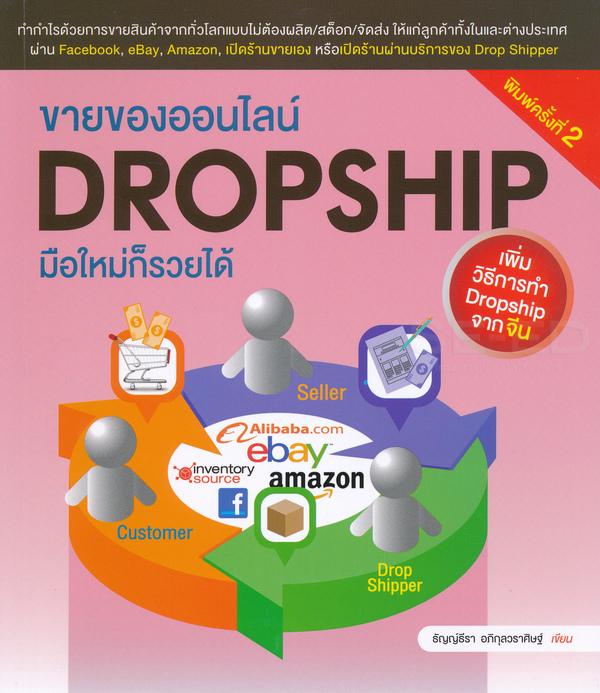 ขายของออนไลน์ Dropship มือใหม่ก็รวยได้ เพิ่มวืธีการทำ Dropship จากจีน