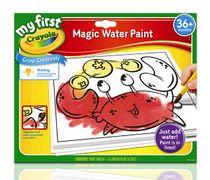 Crayola ชุดสีน้ำมหัศจรรย์สำหรับเด็กเล็ก : 81-1363