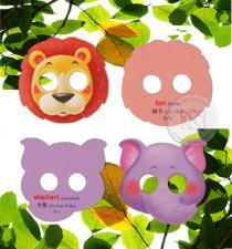 My Animal Masks Cards : การ์ดหน้ากากเพื่อนสัตว์ของหนู ตอน อื้อฮือ เพื่อนสัตว์ในป่าใหญ่