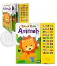 Sound Book Animals +Sound Pad (ปกแข็ง)