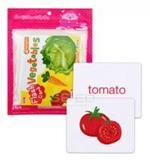 Flash Cards : Vegetables