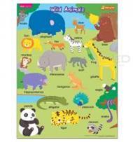 โปสเตอร์พลาสติก Wild Animals (Talking Pen)