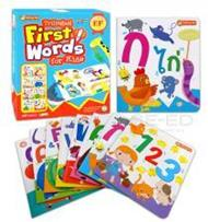 Trilingual First Word for Kids (บรรจุกล่อง : Book Set)