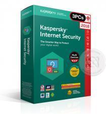 Kaspersky Internet Security 2018 1 ปี/3PCs