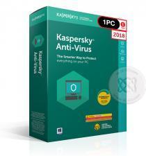 Kaspersky Anti-Virus 2018 1 ปี/1PC