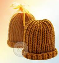หมวกไหมพรมถักโครเชต์พระสงฆ์