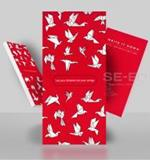 Origami Notepad 3 (นก) 85Wx175H mm. 50 g