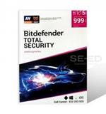 Bitdefender Total Security 2020 2 Year 5 Devices