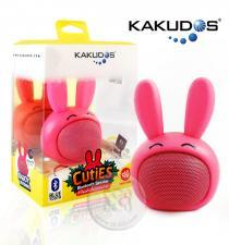 Kakudos Rabbit Bluetooth Speaker ลำโพงกระต่ายบลูทูธ สีชมพู