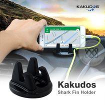 Kakudos Shark Fin Holder ที่ตั้งมือถืออเนกประสงค์ สีดำ