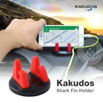 Kakudos Shark Fin Holder ที่ตั้งมือถืออเนกประสงค์ สีแดง